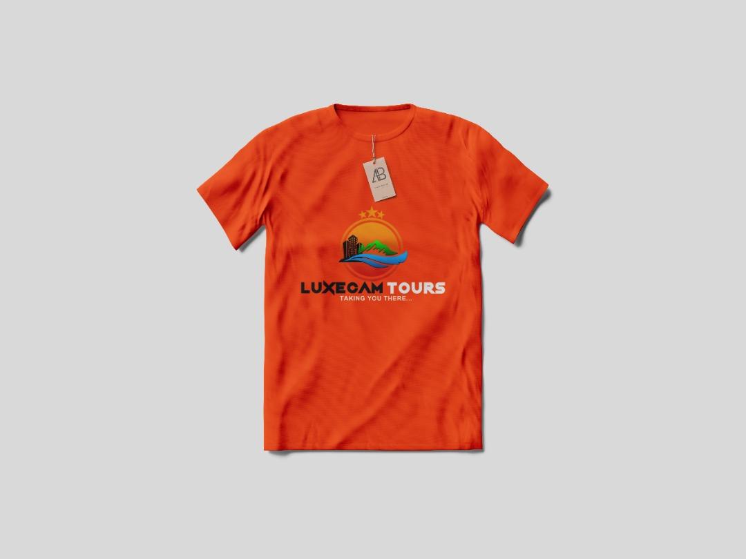 1p luxecam t shirt orange